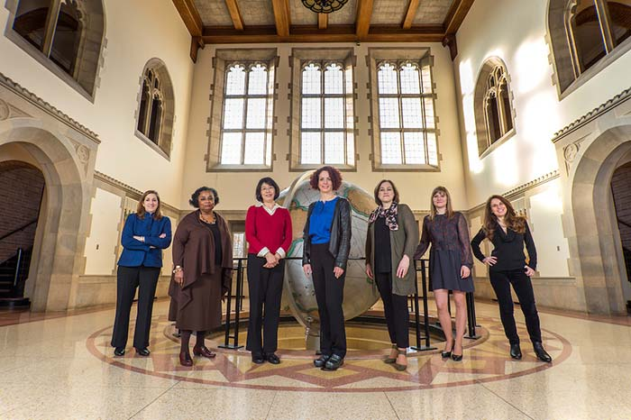 Seven women whose scholarship and leadership are empowering change in the global community.